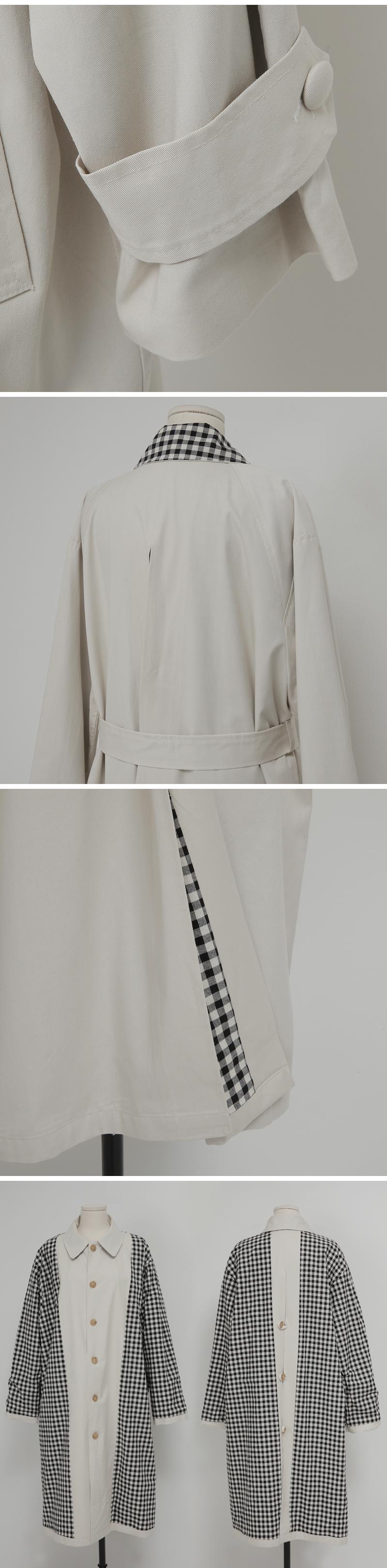 Reversible long trench coat_Y
