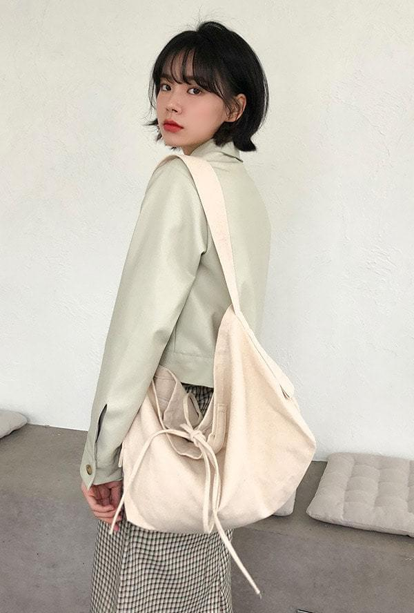 String Big Canvas Bag 帆布包
