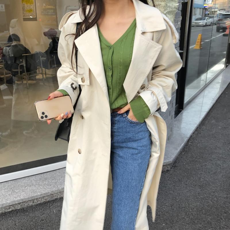 블러썸 트렌치 coat (*3color)