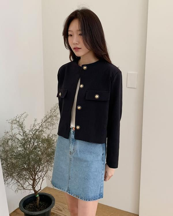 core solid short jacket ジャケット