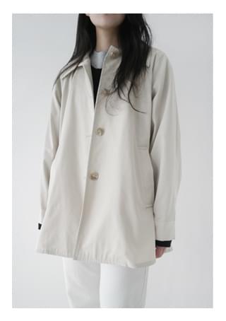 standard half trench coat (2colors)