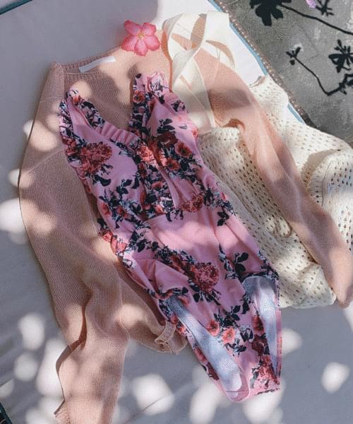 vines swimwear (pink)