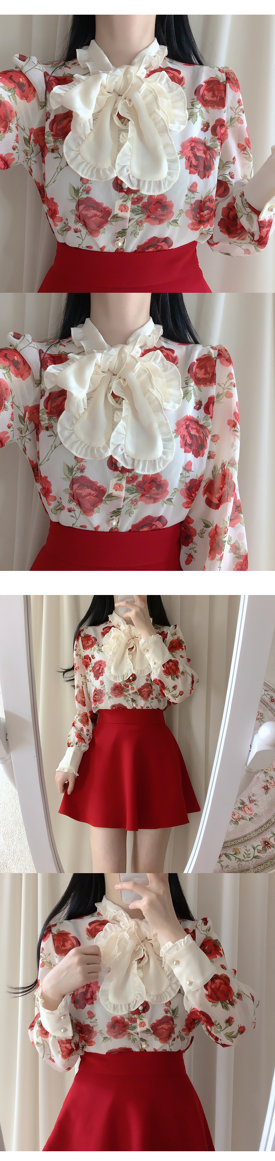 Evian Rose Tyblouse