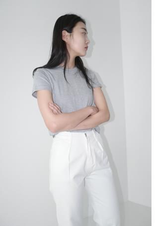 solid wearable crop top (5colors)