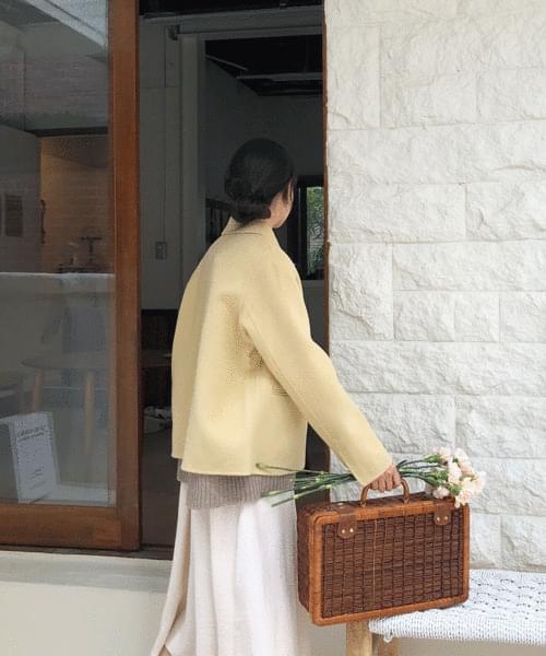 퀀치 숏 핸드메이드 자켓 (2color)