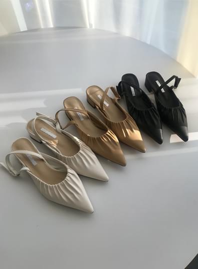 앞코 주름 shoes (*3color)