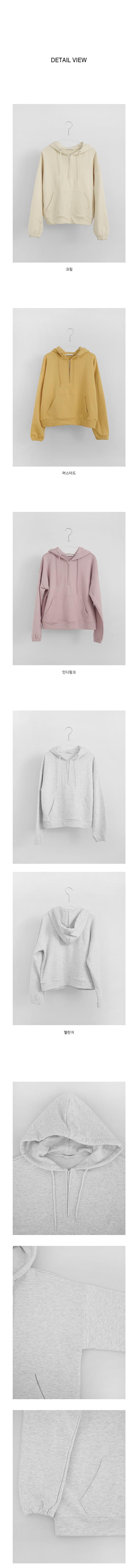 casual cotton hood