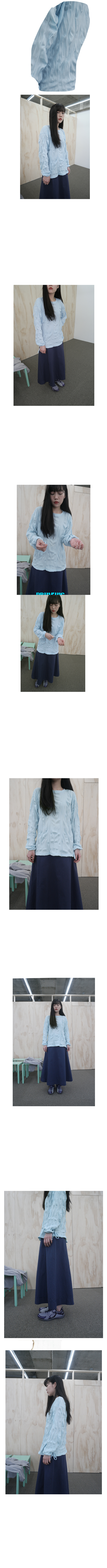 mild check cotton blouse (2colors)