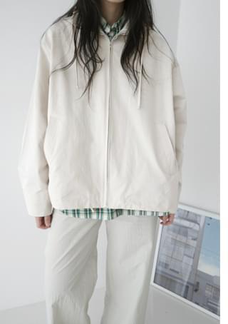 casual hood string jumper (3colors)