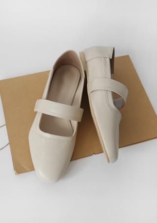 velcro flat shoes (2colors)