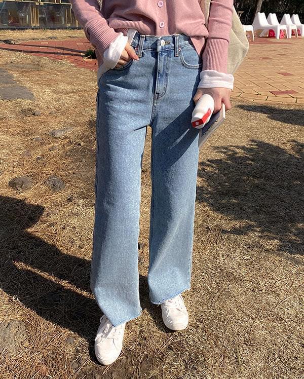 Fedo light denim pants