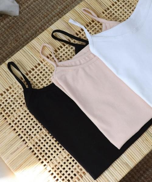 韓國空運 - Cotton sleeveless t 無袖