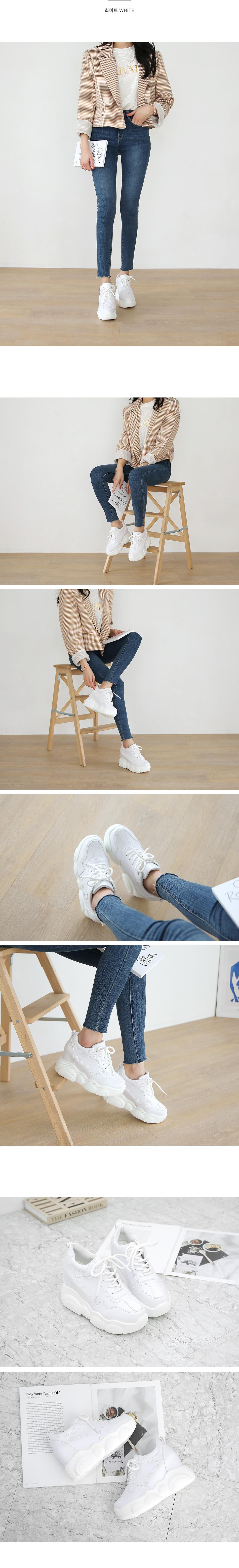 Glea height sneakers 9cm