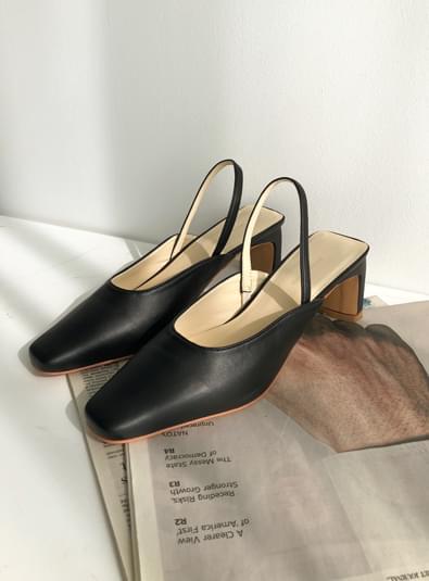 미들 슬링백 shoes (*3color)