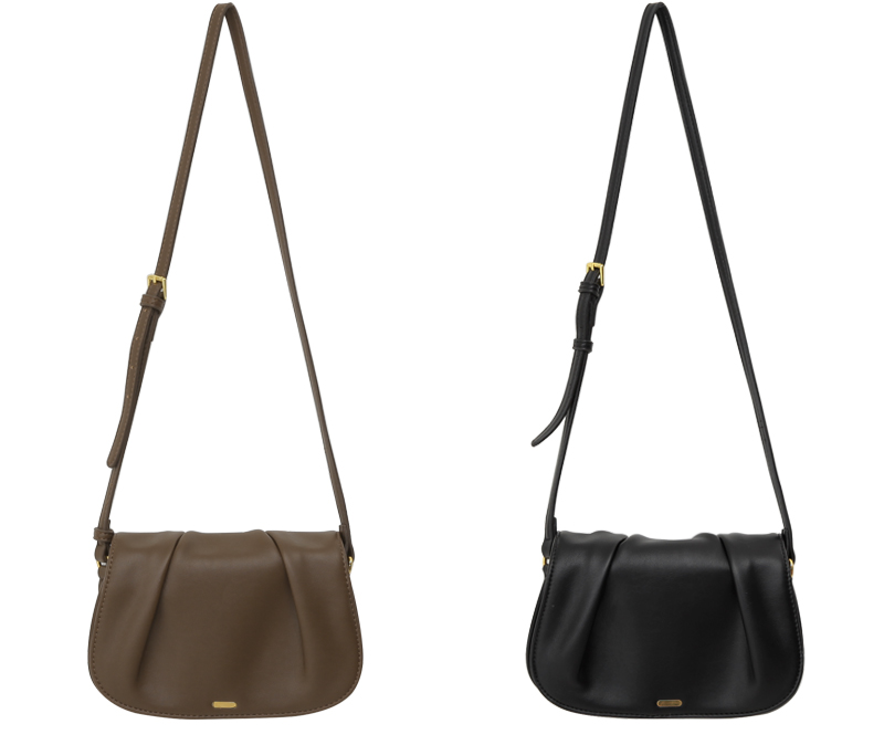 Leave slim strap bag_A (size : one)