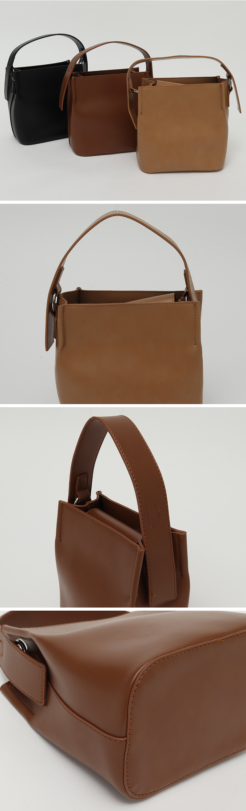 Bold strap two-way bag_P