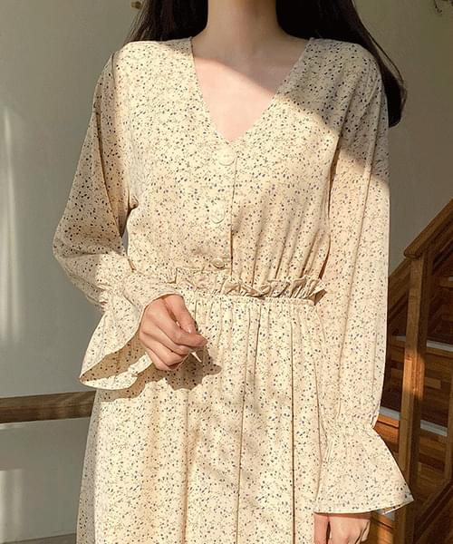Minimalist Flower Dress