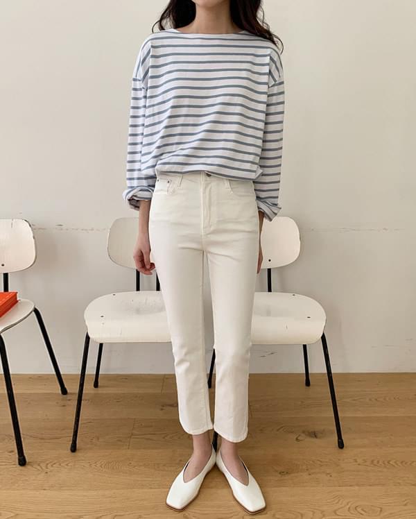 ben slim cotton pants (s, m, l)