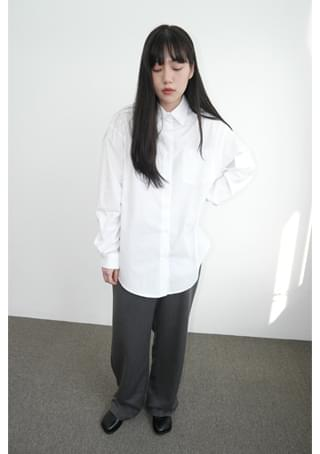 well-made over-fit shirts (3colors)