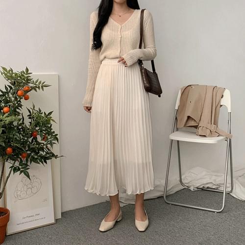 Flancy Chiffon Long Skirt