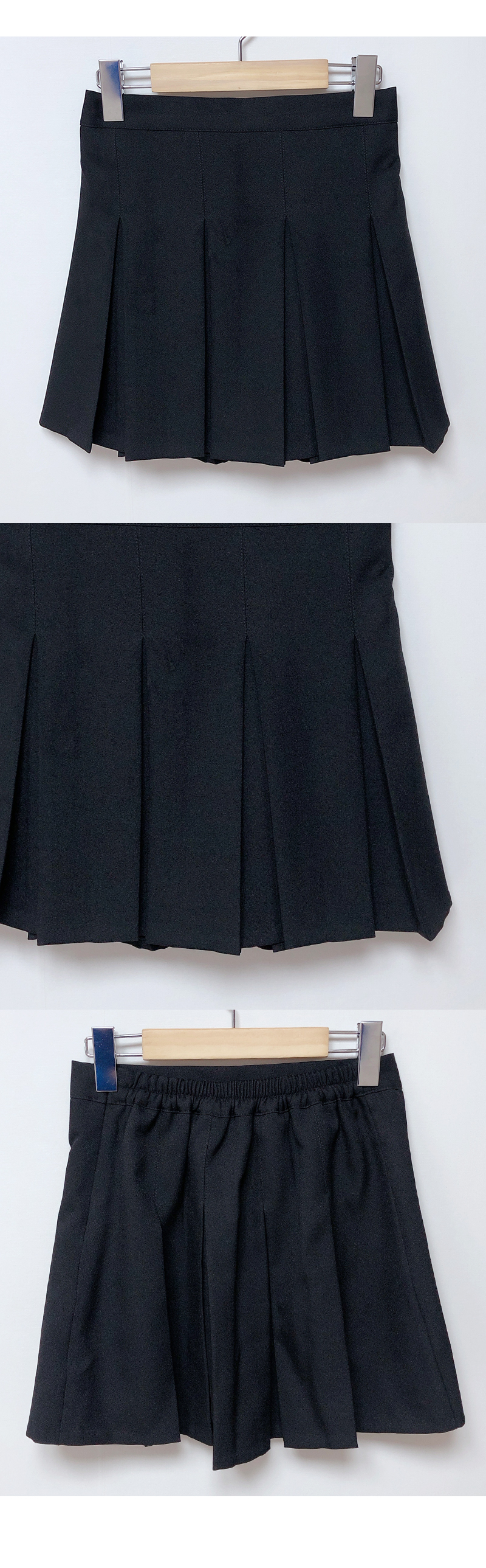 Self-made ♥ Arco pleated skirt