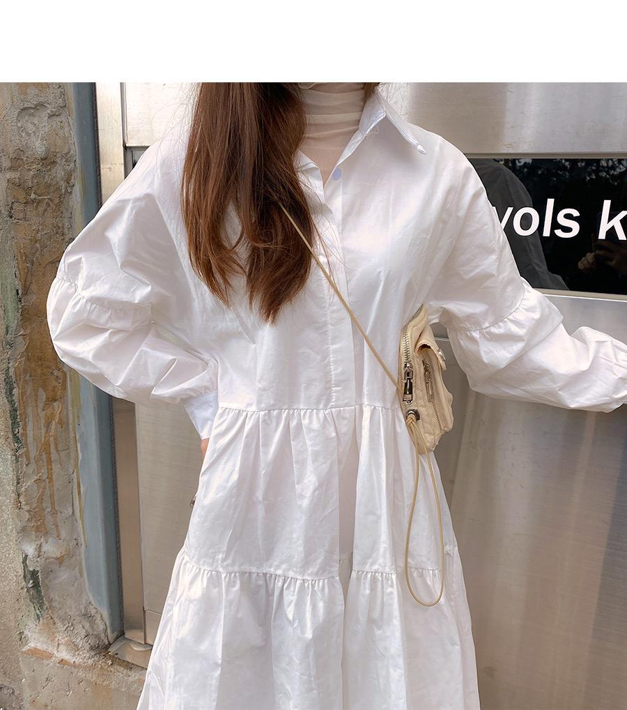 Jaynie Cancan Shirt Dress