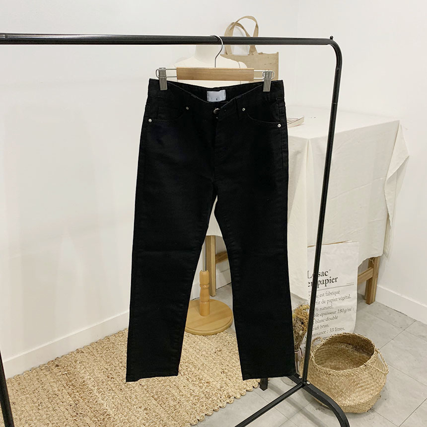 Zero sea 8 skinny cotton pants