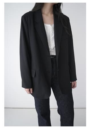 soft formal standard jacket (2colors)