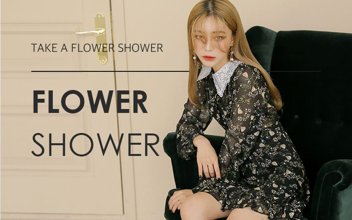 Take a flower shower