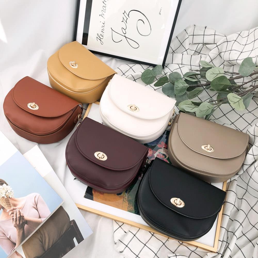 998 modern round shoulder bag
