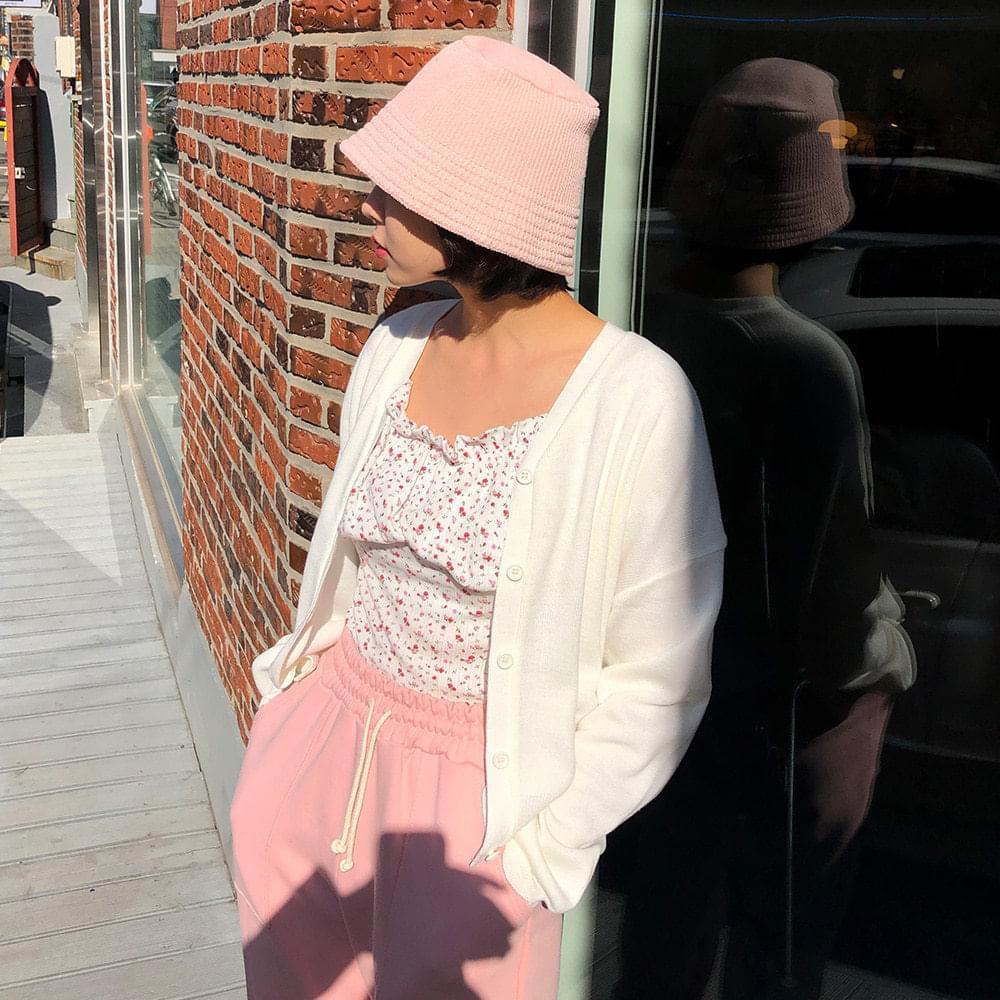 Bubble v neck cardigan Cardigan & Vest