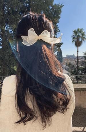 Romantic ribbon hair strap