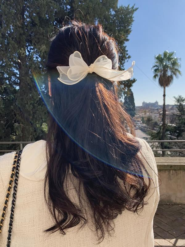 Romantic ribbon hair strap