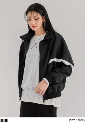 GRACY LINE WINDBREAKER JUMPER