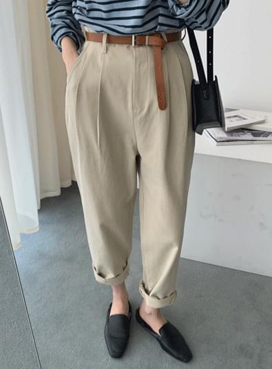 하이 와이드 pants (*2color)