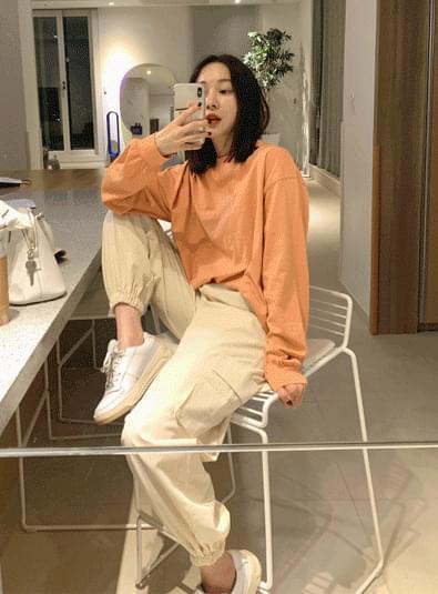 Cotton jogger pants 長褲