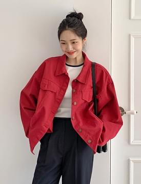 Plum casual cotton jacket_U 夾克外套