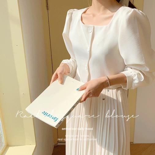 Rachel square blouse