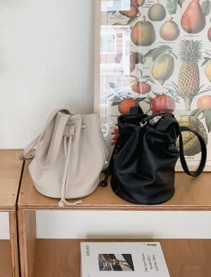 3-color basic bucket bag ショルダーバッグ
