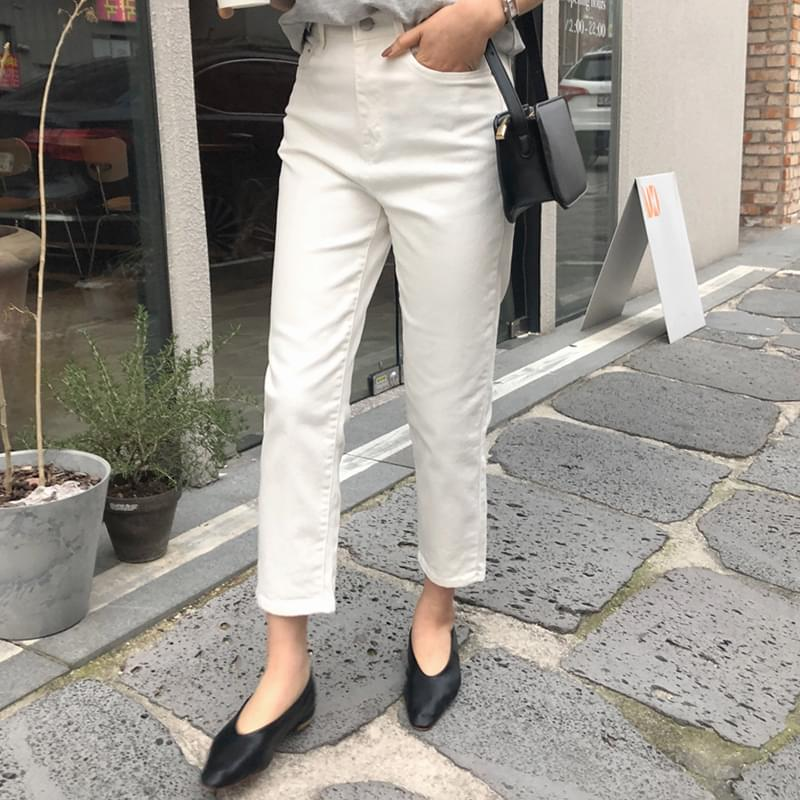 Cotton straight pants child m