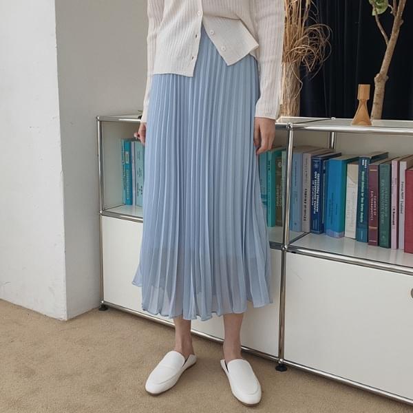 Tisha pleated skirt