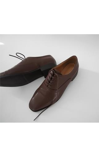 steady classic oxford shoes フラット