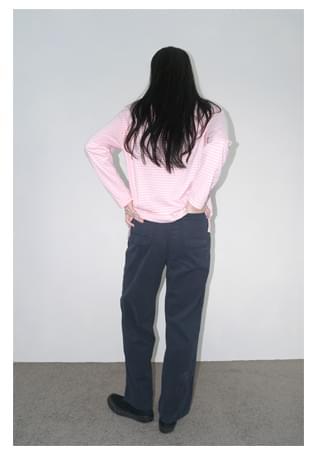 natural cotton pocket pants パンツ