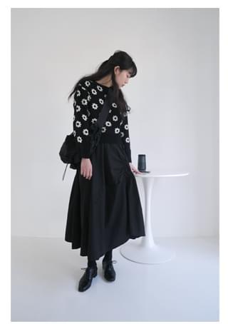 shirring banding cotton skirt スカート