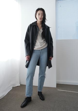 length washing denim pants デニムパンツ