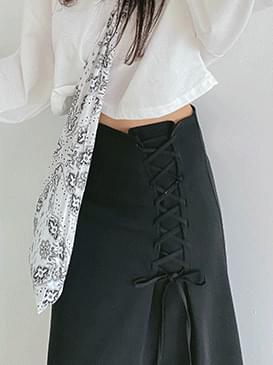 Strap Shadow Long Skirt スカート