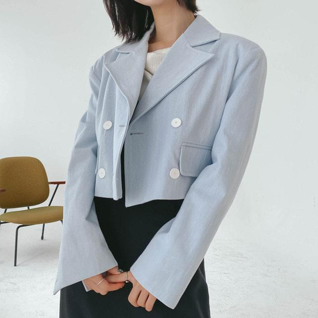 Direct cropped jacket