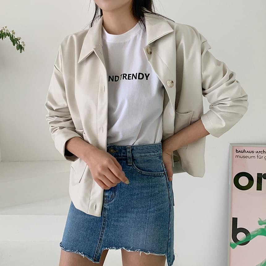Sunny leather jacket