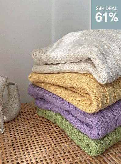 데일리 꽈베기 knit (*4color)