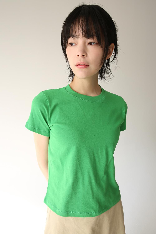 simple colors crop top